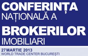 Vino la Conferinta Nationala a Brokerilor Imobiliari