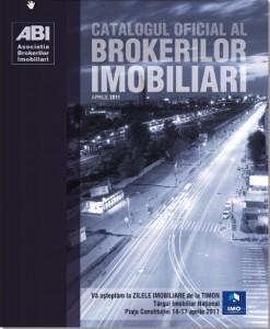 Catalogul Oficial al Brokerilor Imobiliari a vazut lumina tiparului