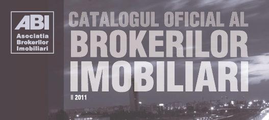 Editia a doua a Catalogului Oficial al Brokerilor Imobiliari a vazut lumina tiparului