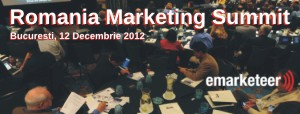 Conferinta Romania Marketing Summit: prima editie, pe 12 decembrie