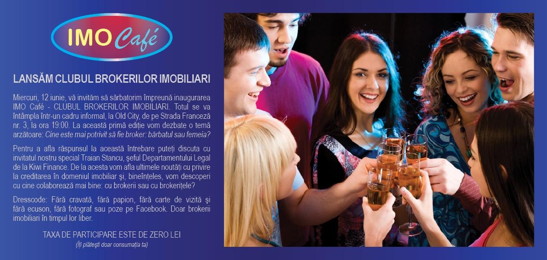 Lansare IMO Café – CLUBUL BROKERILOR IMOBILIARI